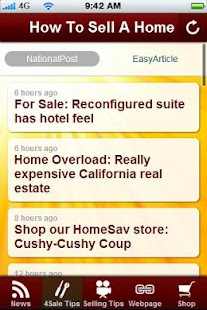 Sell your Home Tips. - screenshot thumbnail