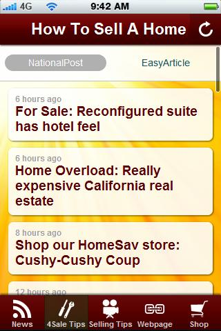 Sell your Home Tips. - screenshot