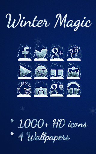 Winter Magic - Icon Pack