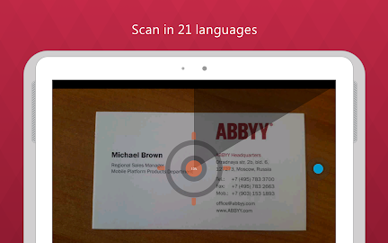 Business Card Reader Pro Screenshot 17
