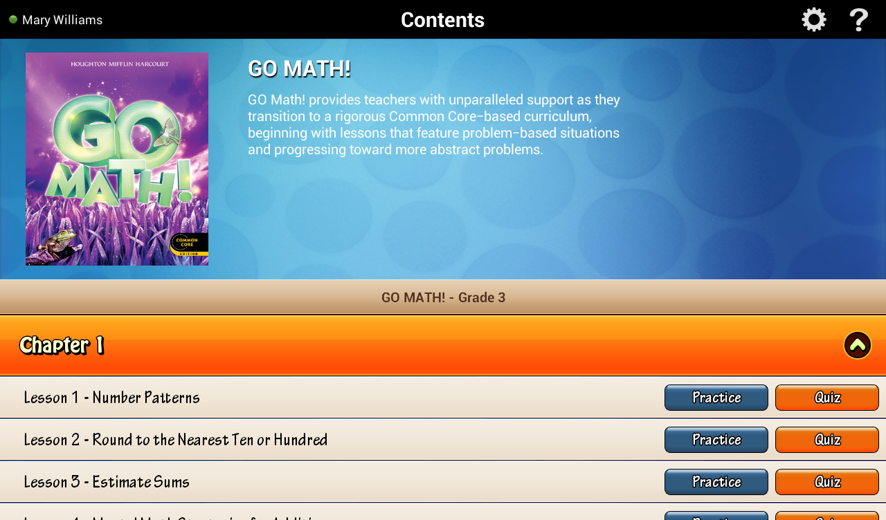 Workbooks houghton mifflin math practice workbook grade 4 : Go Math! Daily Grade 3 - Android Apps on Google Play