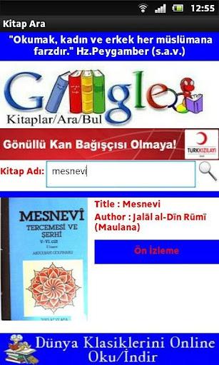 Kitap Ara Search Book