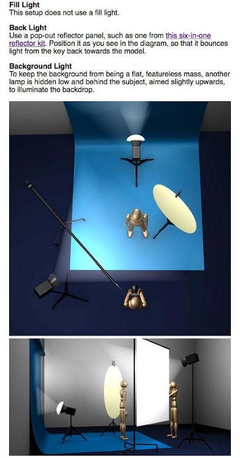 Photo Lighting Setups- screenshot