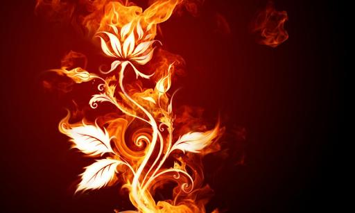 炎の3D壁紙