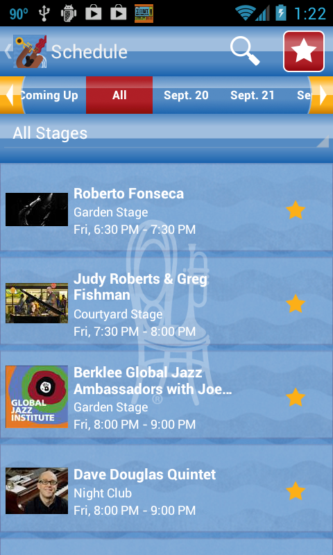 56th Monterey Jazz Festival - screenshot
