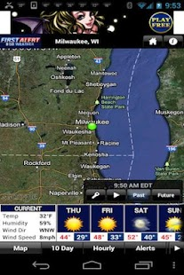 CBS58 Weather - screenshot thumbnail