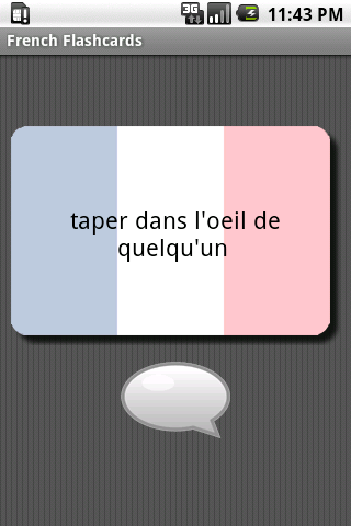 French Flashcards - screenshot