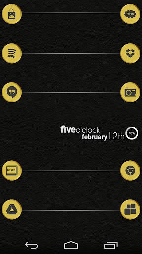 VM4 Gold Icon Set