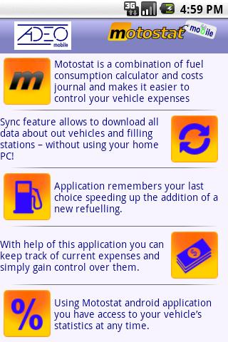 Motostat - screenshot