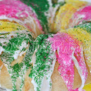 Super Easy King Cake