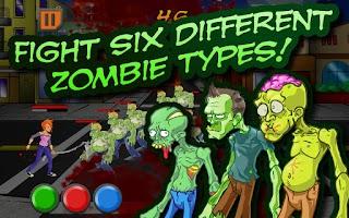 Screenshot of ZomNomNom Free - Zombie Game