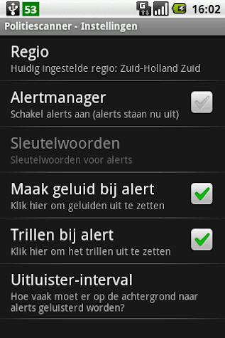 Police Scanner Screenshot