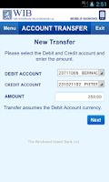 Screenshot of Banking