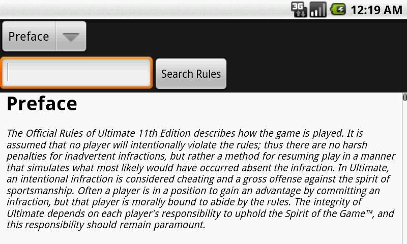 Ultimate Rulebook- screenshot