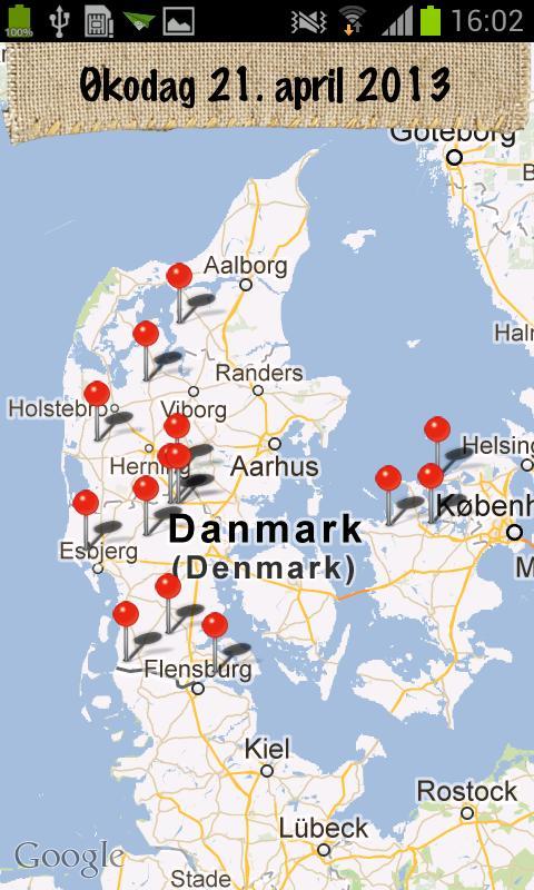 Økologisk Landsforening- screenshot