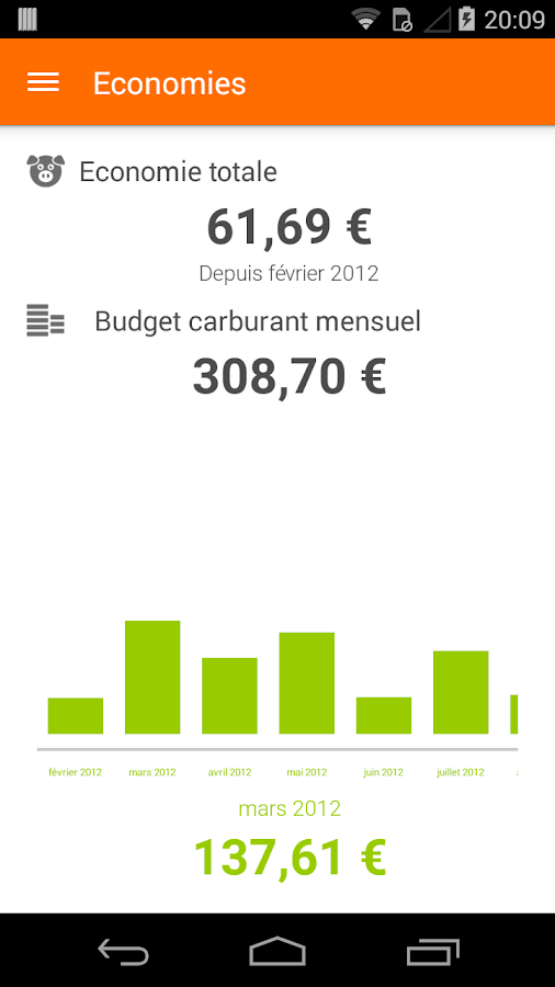 Essence Comparateur Carburant - screenshot