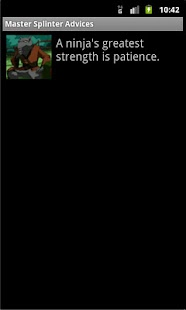 Master Splinter's Advises screenshot