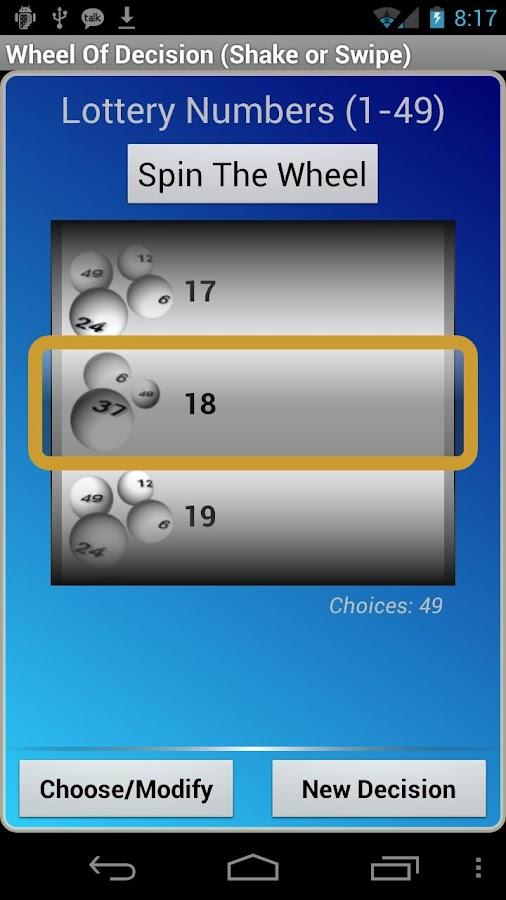 Wheel Of Decision- screenshot
