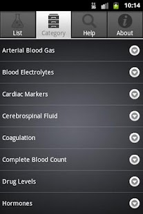 Lab Values- screenshot thumbnail