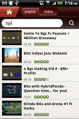 FREEdi YouTube Player - screenshot