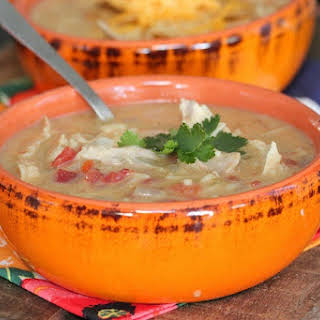 Slow Cooker Chicken Enchilada Soup.