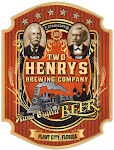 Logo for Two Henrys Brewing Company