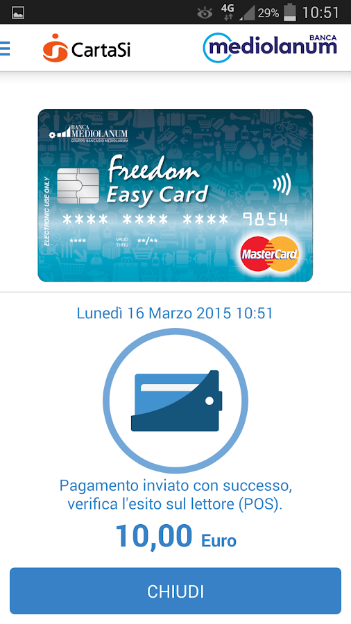 Freedom Easy Card PLP - screenshot