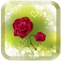 Red rose love wallpaper Free icon