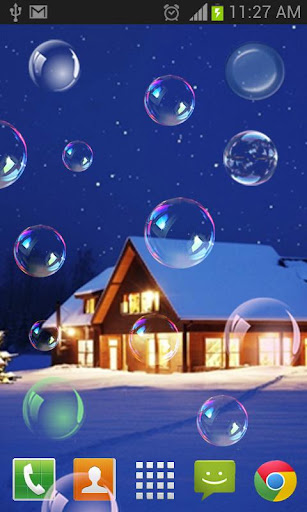 Soap Bubble Live wallpaper