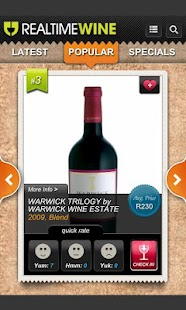 Real Time Wine - screenshot thumbnail