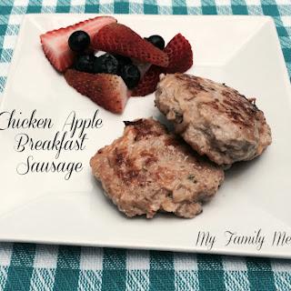 Chicken Apple Sausage Breakfast