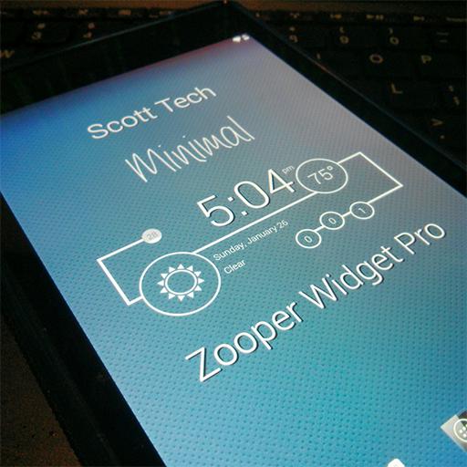 Minimal - Zooper Widget Pro 個人化 App LOGO-APP開箱王