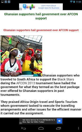 【免費新聞App】Ghana News-APP點子