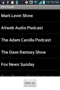 Mark Levin Podcast RSS- screenshot thumbnail
