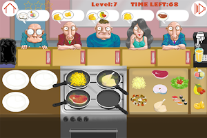 Screenshot of Game Cooking and Restaurant