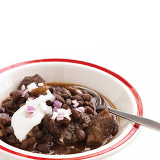 Slow-Cooker Beef and Black-Bean Chili.