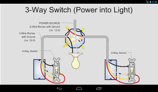 2 gang 2 way switch wiring diagram household wiring 2 way switch electric toolkit - home wiring - android apps on google play