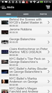 New York City Ballet- screenshot thumbnail