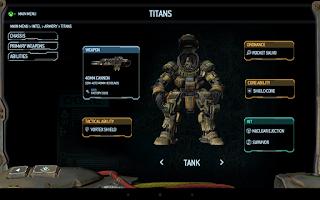 Screenshot of Titanfall™ Companion App
