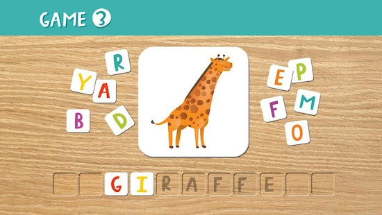 ABC Animal Puzzle Screenshot