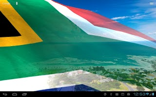 Screenshot of Flags of Africa Live Wallpaper