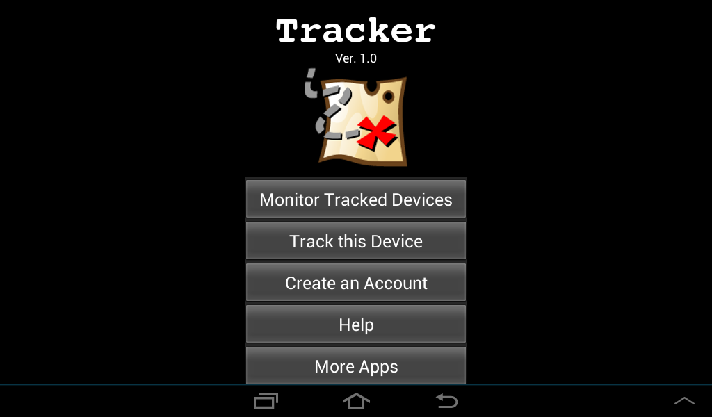 Tracker- screenshot