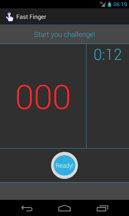 Fast Finger - screenshot