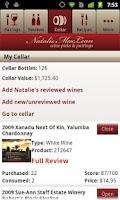 Screenshot of Natalie MacLean Wine Reviews