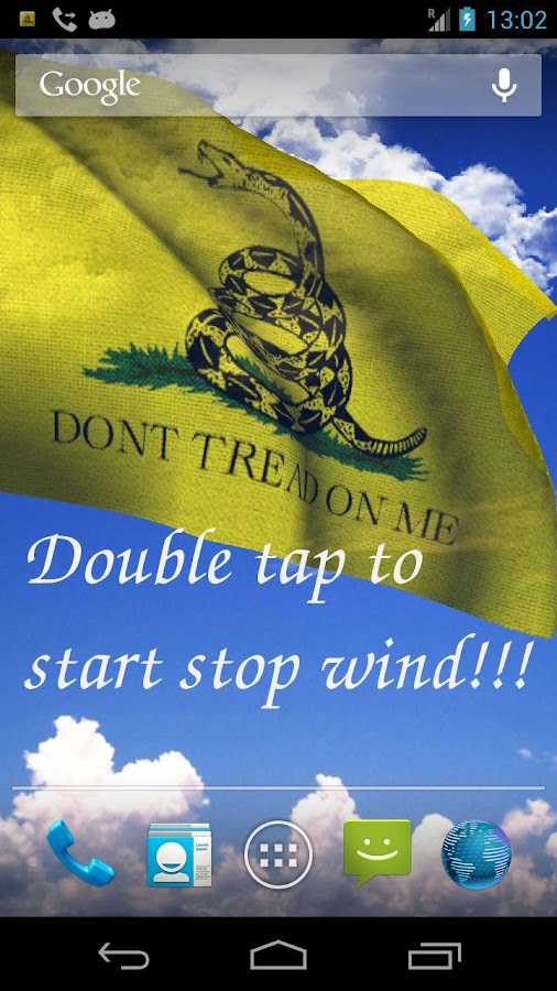 DONT TREAD ON ME (LWP Free) - screenshot