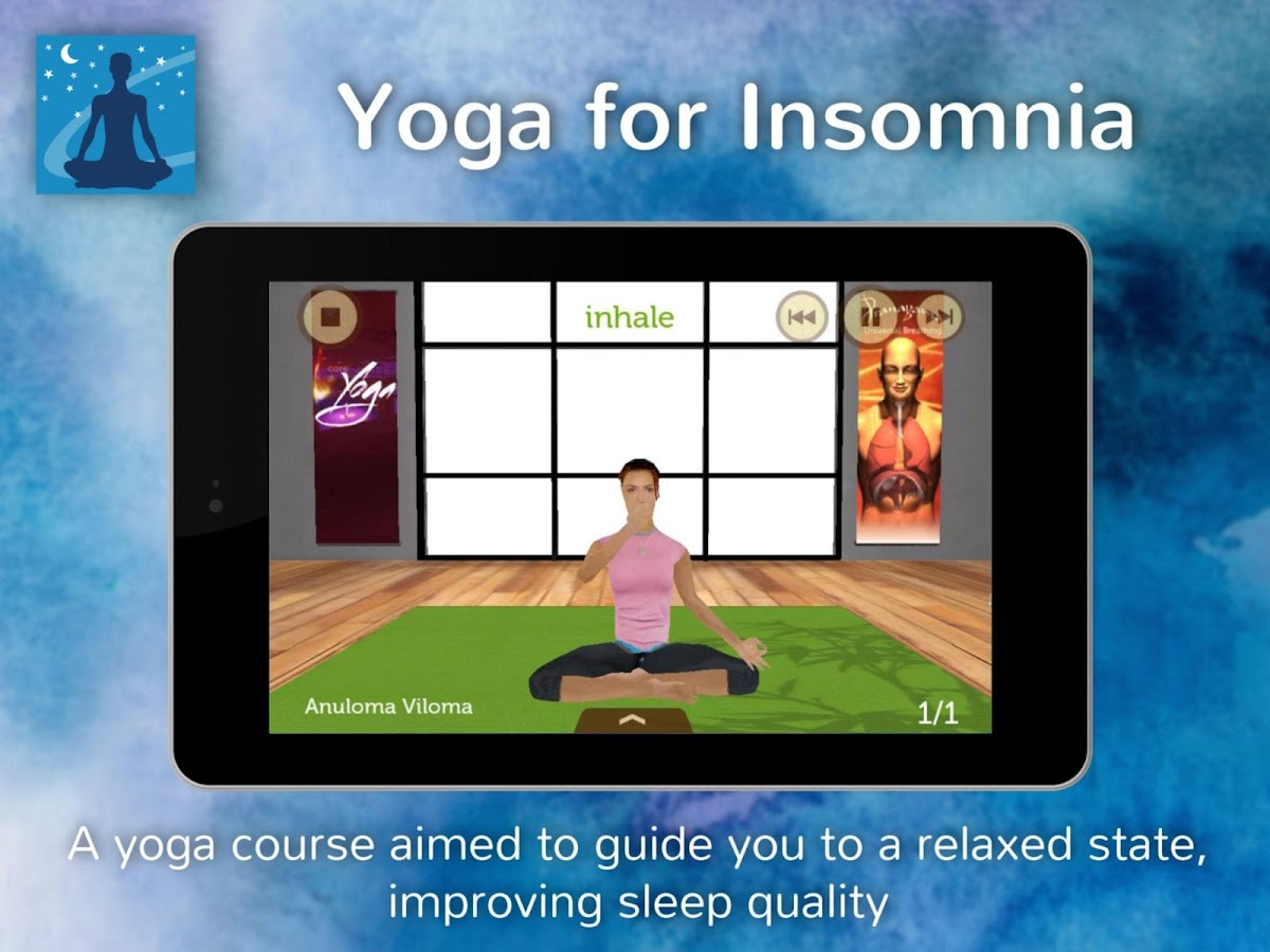 Yoga for Insomnia - screenshot