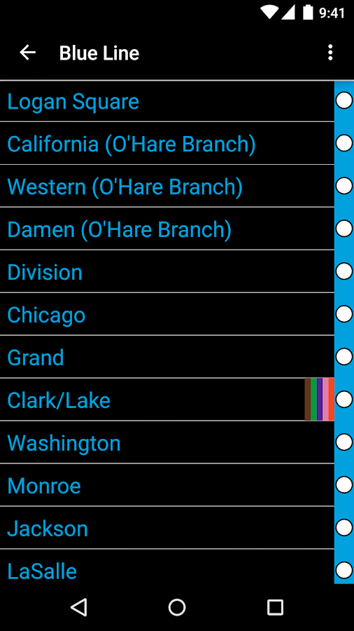FastTimes: Chicago CTA- screenshot