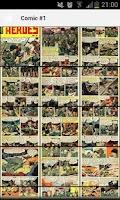 Screenshot of War Heroes Comic