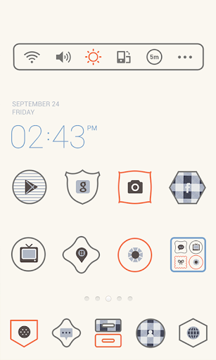 Simple Check Dodol Theme