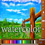 Realistic watercolor Easy APK icon